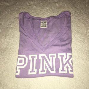 Victoria Secret Pink Campus Tee